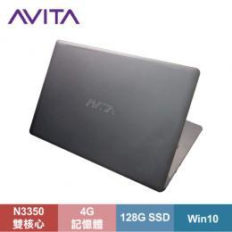 AVITA LIBER 纖薄型筆電 太空灰/N3350/4G/128G SSD/14吋FHD IPS/W10/LAPTOP-AVITA-003-02
