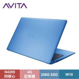 AVITA LIBER 纖薄型筆電 澄空藍/N4200/4G/256G SSD/13.3吋FHD IPS/W10/LAPTOP-AVITA-011-011