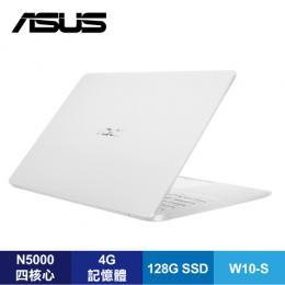 ASUS E406MA-0073GN5000 雲朵白輕薄筆電/N5000/4G/128G SSD/14吋FHD IPS/W10-S