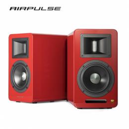 漫步者Edifier AIRPULSE A100 2.0聲道 藍牙喇叭音響-紅色限量版 (5吋鋁盆中低音/藍牙4.1/光纖.同軸.XLR)