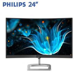PHILIPS飛利浦 248E9QHSB/96 24型 曲面液晶顯示器(VA/D-Sub、HDMI/FreeSync/三年保固)