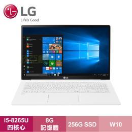 LG Gram 15Z990-G.AA53C2 天使白窄邊極緻超輕薄筆電/i5-8265U/8G/256G SSD/15吋FHD/W10/2年保