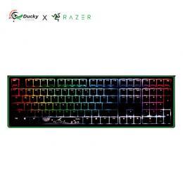 創傑 Ducky One 2 x Razer RGB聯名款機械式鍵盤/RAZER綠軸/中文 限量