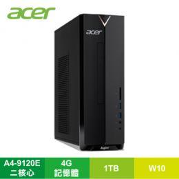 ★分期0利率★宏碁 acer Aspire XC-330 小型桌上型電腦/A4-9120E/4G/1TB/DVDRW/讀卡機/Win10/附鍵盤滑鼠/DT.BD2TA.001★新規上市CPU改料號