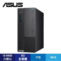華碩 ASUS H-S641MD-I59400004T 桌上型電腦/i5-9400/B360/8G/1T/DVDRW/讀卡機/Type-C/WiFi/Win10/附鍵盤滑鼠