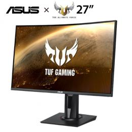 ★分期0利率★ASUS TUF GAMING VG27VQ 27吋VA曲面電競螢幕/1920x1080/1500R/165Hz/1ms/FreeSync/不閃屏/濾藍光/HDMI/DVI/DP/升降/..