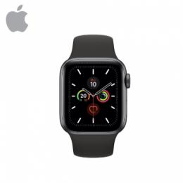 Apple Watch S5 GPS, 40mm 太空灰色鋁金屬錶殼 運動型錶帶*MWV82TA/A