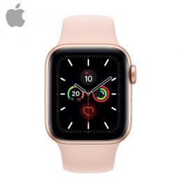 Apple Watch S5 GPS, 44mm 金色鋁金屬錶殼 運動型錶帶*MWVE2TA/A