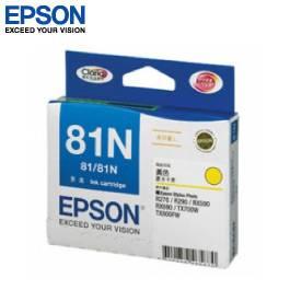 EPSON 81N 高印量L墨水匣T111450(黃)