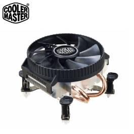 CoolerMaster(酷碼) Vortex 211P 下吹式 CPU散熱器 /適用 LGA1156、1155、775 /高度 5.8cm