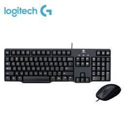 Logitech 羅技 MK100 超值入門鍵盤滑鼠組II代 /PS2鍵盤+USB滑鼠