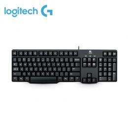 Logitech 羅技 K100 PS2 經典有線鍵盤 / 防濺灑設計