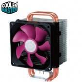 CoolerMaster(酷碼) Blizzard T2 暴雪系列 塔型 CPU散熱器 /9cm塔型設計 /專利雙迴路熱管設計 /支援 1156、1155、775、AMD腳位 /高14cm /RR-T..