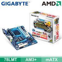技嘉 78LMT-USB3 (mATX/4*RAM/1*PCIe x16/U3/HDMI+DVI+D-Sub/19pin)