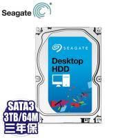 Seagate SV35系列 3TB監控碟(ST3000VX000-3Y) /7200轉/64MB/三年保固【100萬小時MTBF】