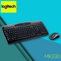 羅技 MK330 無線滑鼠鍵盤組 /2.4G Unifying無線技術 /超強省電功能 /UV保護覆 /防濺灑鍵盤設計