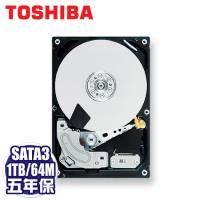 TOSHIBA Harrier 1TB 企業級硬碟(MG03ACA100) /SATA3/7200轉/64MB快取/五年保固