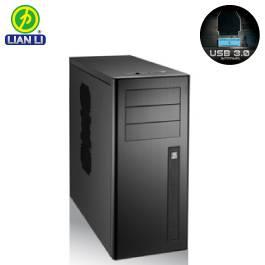 聯力 PC-9NB USB3.0 電腦機殼/黑色/USB3.0*2【福利品出清】