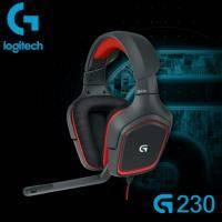 Logitech 羅技G G230 電競耳麥/有線/折疊式隔音麥克風