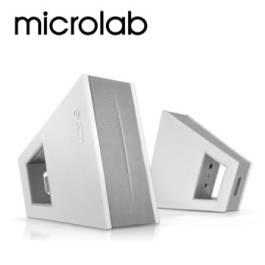 Microlab FC-10 2.0 CH 數位臨場多媒體音箱(白) 【福利品出清】