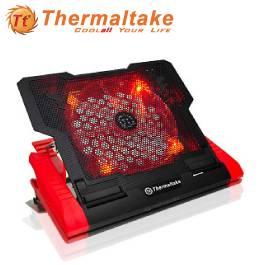 曜越 Massive23 GT 紅光 筆電散熱墊