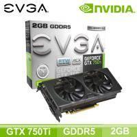 EVGA GTX 750 Ti FTW w/ ACX COOLER (2GB/核心1189MHz/記憶體5400MHz)(長22.9cm)