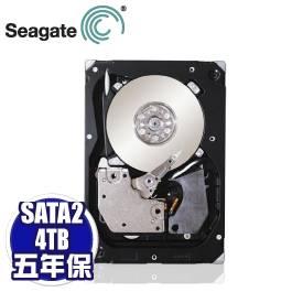 Seagate 4TB 企業級(ST4000NM0053/5Y)/SATA3/7200轉/128MB/五年保固
