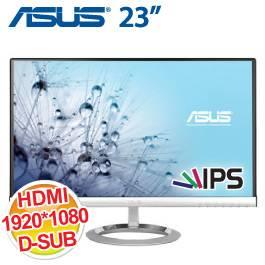 ASUS 23.0吋 MX239H/AH-IPS/HDMI*2+DVI-D+D-Sub/3W*2喇叭/無邊框 (美型)