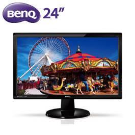 BENQ 24.0吋 GL2450HM-FL(不閃屏+低藍光)/LED面板/D-sub / DVI / HDMI/喇叭2W*2 (高CP值)【福利品出清】