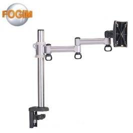 FOGIM 夾桌懸臂式液晶螢幕支架(單螢幕)-終身保固-TKLA-5082C4-SM