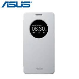 ASUS Zenfone A500KL、A500CG、A501CG 原廠穿透式彩殼 View Flip Cover-白 / PF-01 VIEW FLIP COVER/A500/WH