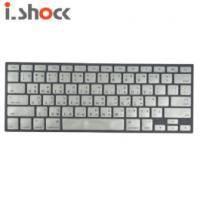 i.shock MacBook Air繽紛亮彩鍵盤膜 -金屬銀