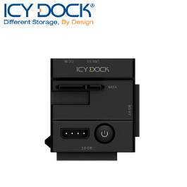 ICY DOCK IDE/SATA/USB3.0外接硬碟座-MB981U3N-1SA