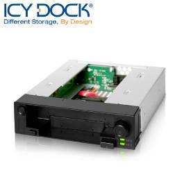 ICY DOCK 2.5吋&3.5吋SATA雙重抽取盒-MB971SP-B