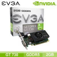 EVGA GT730 2GB GDDR5 Low Profile (2G/核心902MHz/記憶體5000MHz)(長14.5cm)