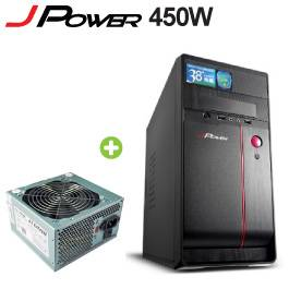 【無敵拼圖】杰強 J-POWER【JP-1L0B–曙光】+ j-power 450w 原價$1199 現省$400