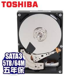 TOSHIBA Tcmcat 5TB 企業級硬碟(MG04ACA500E) /SATA3/7200轉/128MB快取/五年保固內非人損直接換新