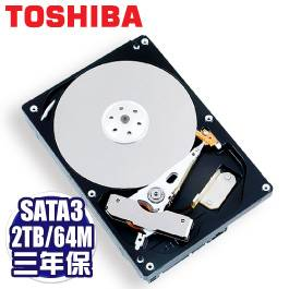 TOSHIBA Sonance 2TB NAS硬碟(MD03ACA200V) /SATA3/7200轉/64MB快取/三年保固內非人損直接換新