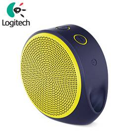 Logitech羅技 X100 無線音箱(亮黃)