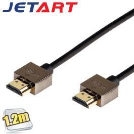 捷藝JetArt HDMI線(公轉公)-1.2M/HDC1412AA