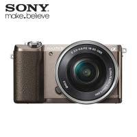 SONY ILCE-5100L/T 數位單眼相機/變焦鏡組(棕色)