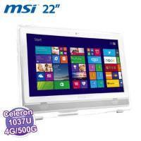 MSI 微星 AE223-0091TW 【21.5吋 LCD No Touch/Intel 雙核1037u 1.8G/DDR3 4GB /500G/4in1/Super Multin Win8】