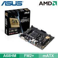 華碩 A68HM-E (mATX/2*RAM/1*PCIe x16/U3S6/DVI+D-Sub/19PIN)