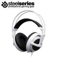 電競耳機:Steelseries 西伯利亞 Siberia V2 USB 耳麥-白