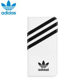 Adidas Booklet Case for iPhone 6 - 白底黑