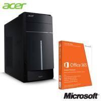 【I5四核獨顯娛樂站】acer Aspire TC605【i5-4460、4G、1TB、R5-235-2GB 獨立顯卡、W8.1】+office365 一起買最便宜