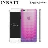 INNATT iPhone6香水彩蝶-超薄殼彩透紫 MIT臺灣製