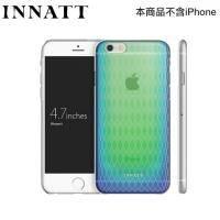 INNATT iPhone6香水彩蝶-超薄殼彩透藍 MIT臺灣製