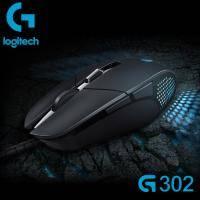 羅技G302 MOBA/電競滑鼠/6個可自訂//內置金屬彈簧的左/右按鍵張力/1 毫秒回報率