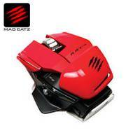 【超現代雷射感測器】Mad Catz 美加獅RAT M 無線藍芽4.0 滑鼠(紅)【需客訂出貨】